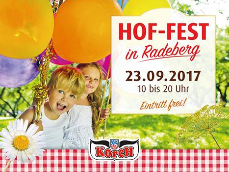 Hoffest in Radeberg