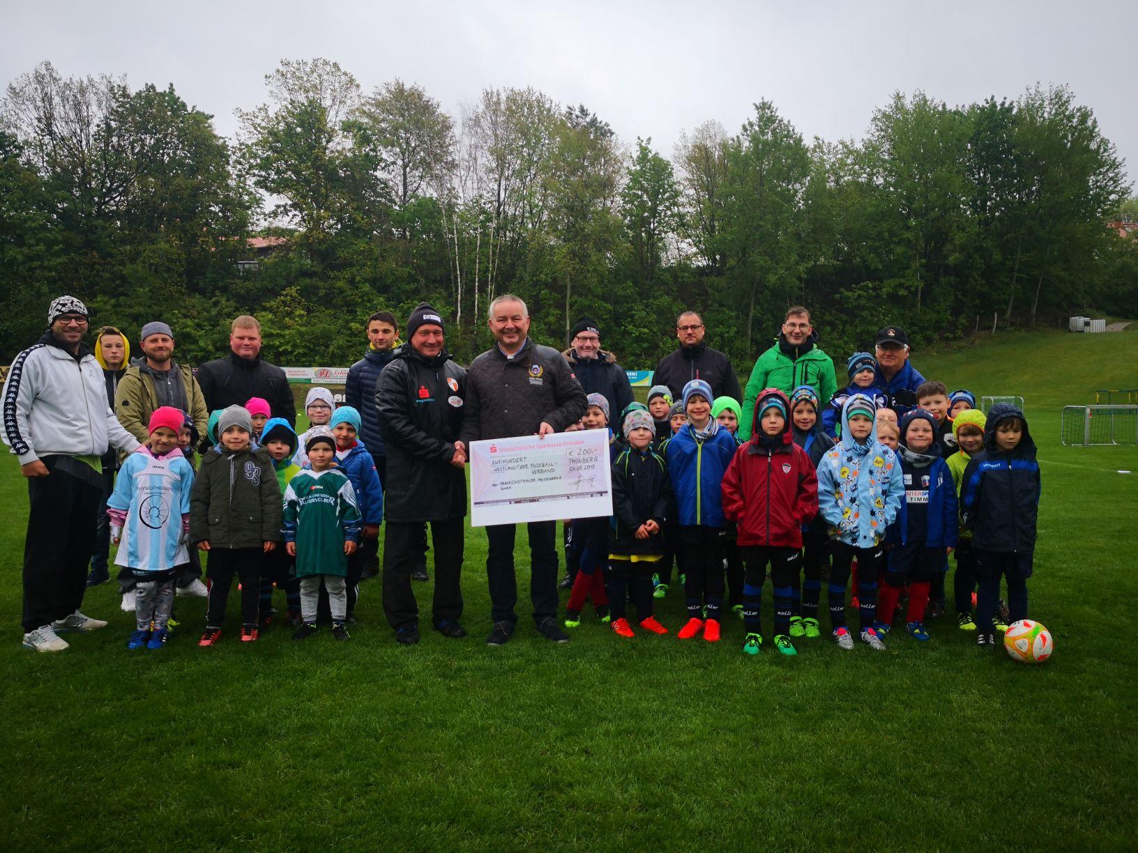 Heinrichsthaler unterstützt Westlausitzer Fußballverband