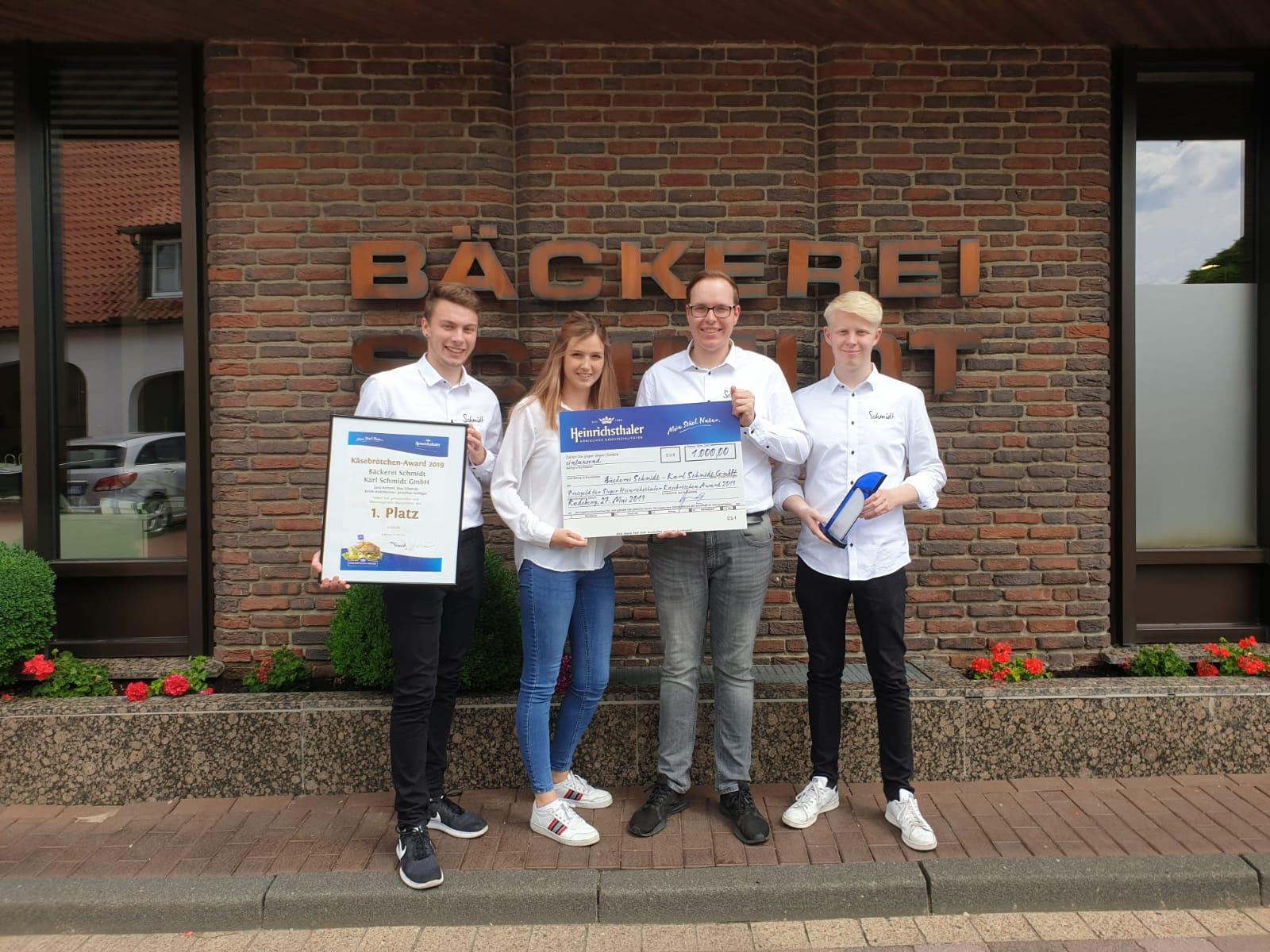 Bäckerei Schmidt gewinnt Käsebrötchen-Award 2019