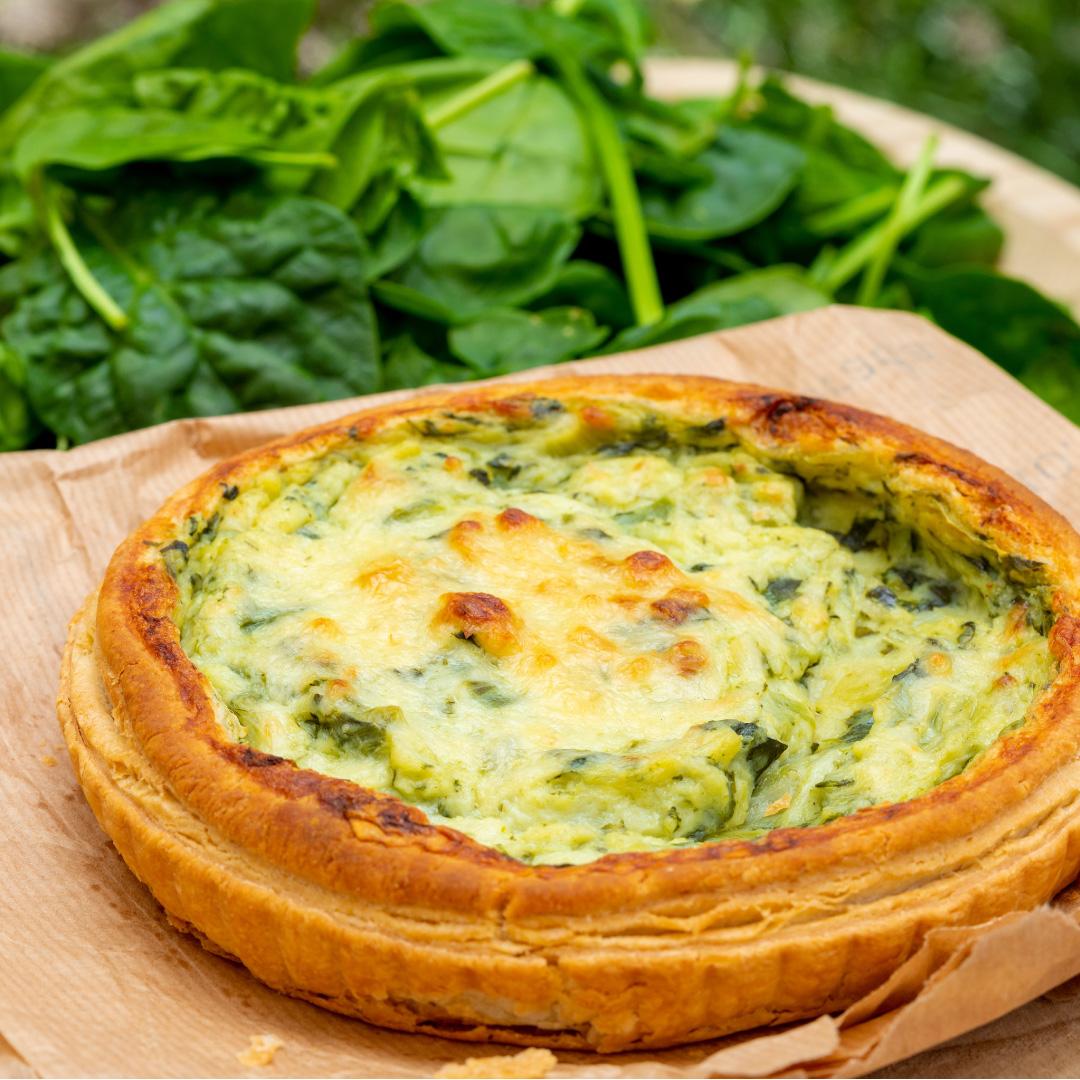 Käse-Spinat-Törtchen
