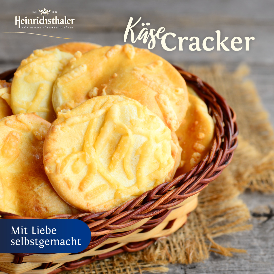 Heinrichsthaler Käse-Cracker