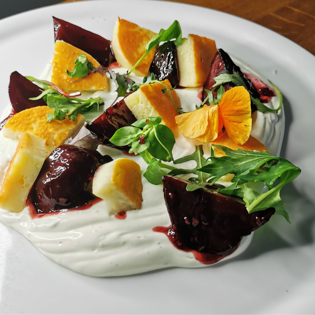 Rote-Beete-Grill-Taler-Salat
