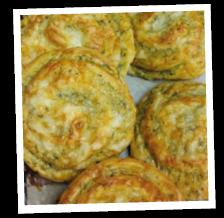 Bärlauch-Camembert-Schnecke