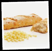 Käse-Baguette nach Elsäßer Art