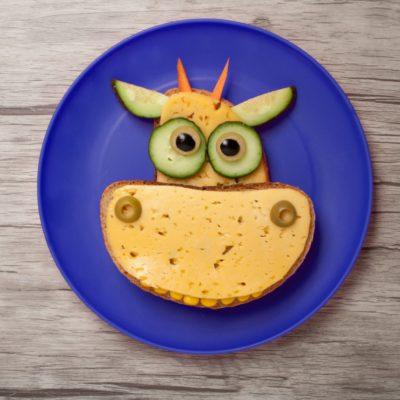 Kreative Käse-Brote