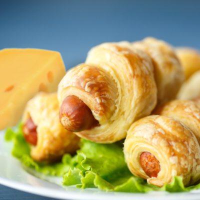 Wiener im Käse-Schlafrock