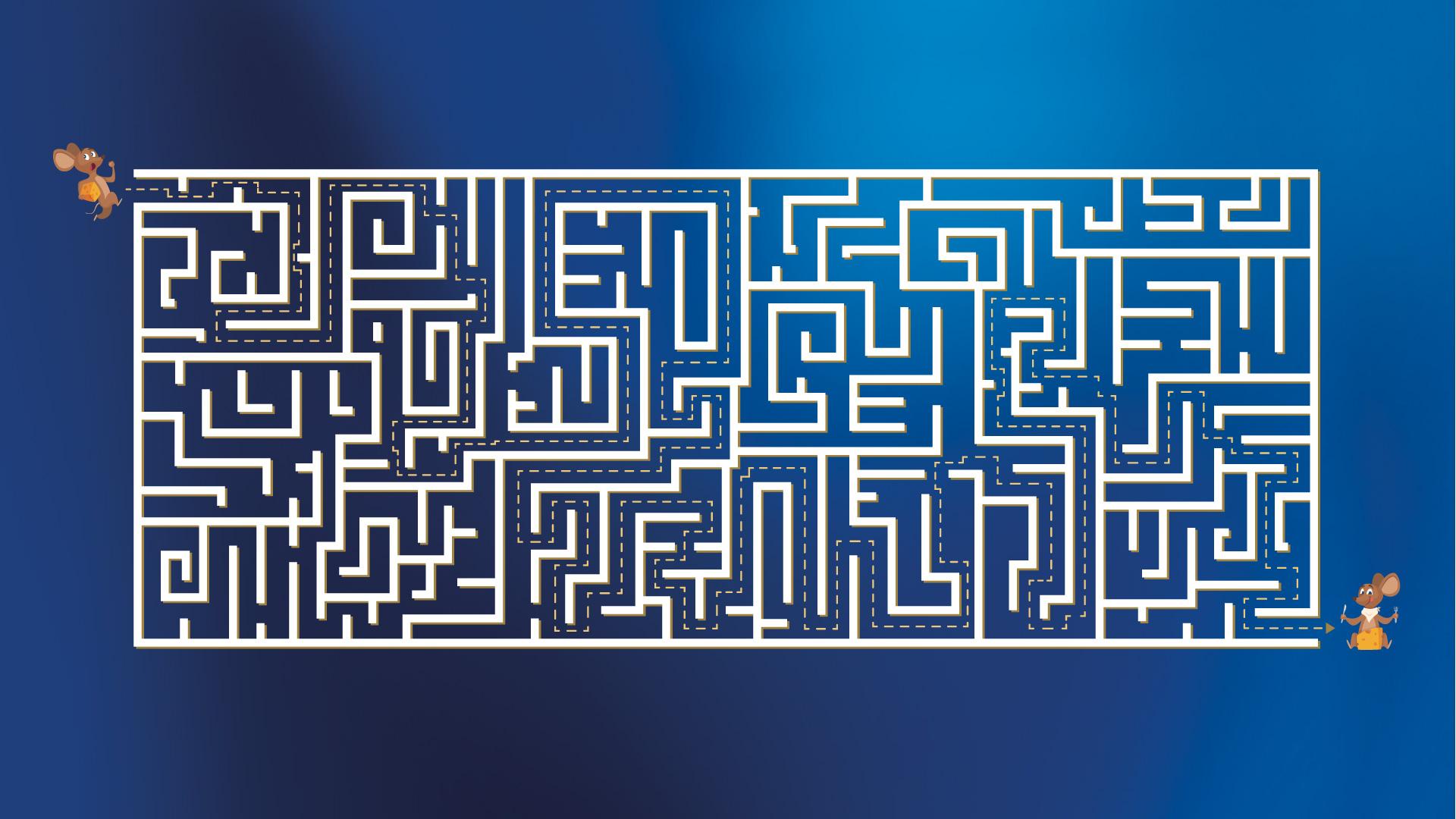 Kugel-Labyrinth