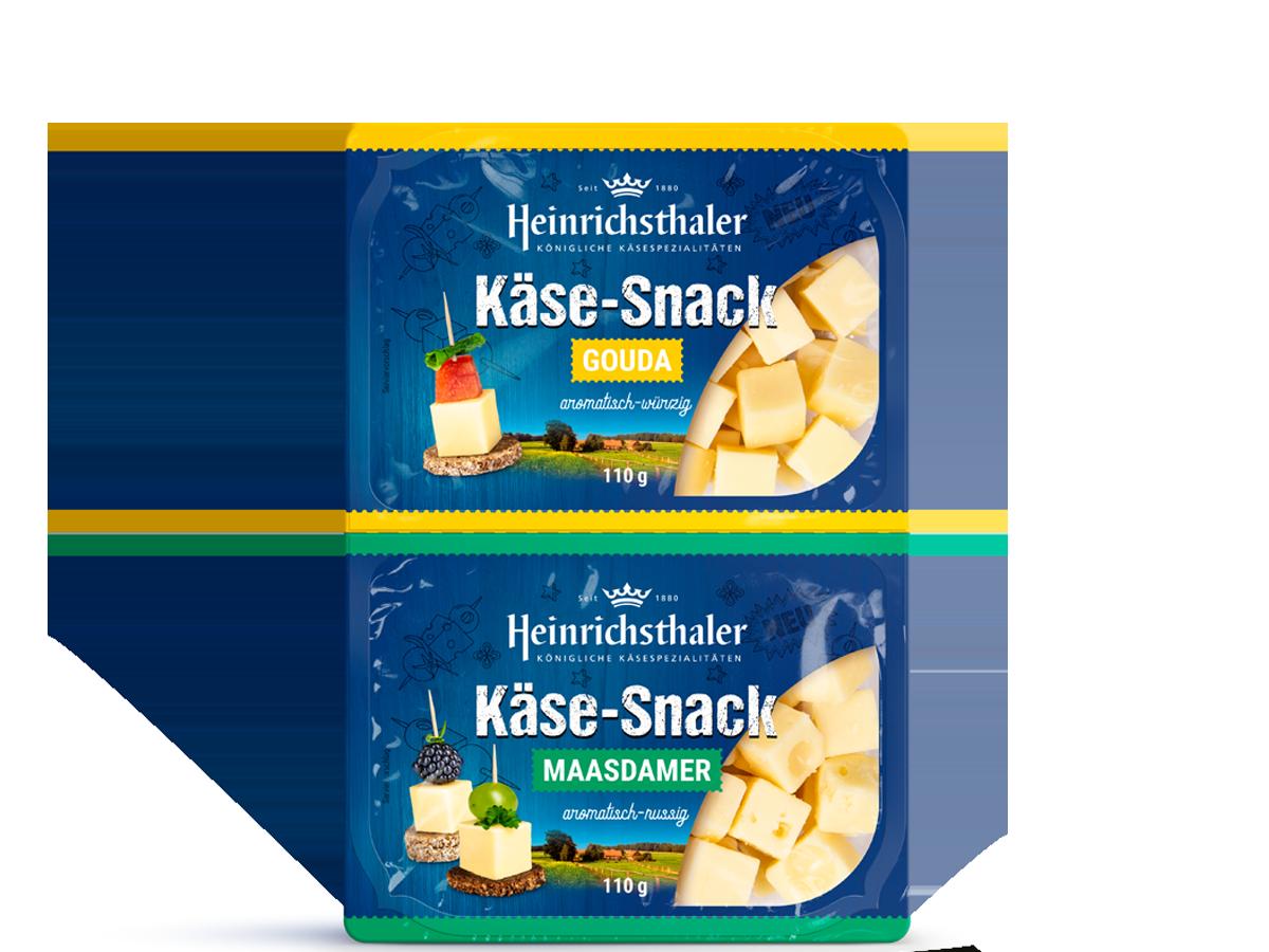 Käse-Snack Gouda + Maasdamer