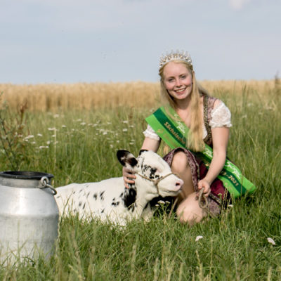Sachsens Milchkönigin - nachgefragt