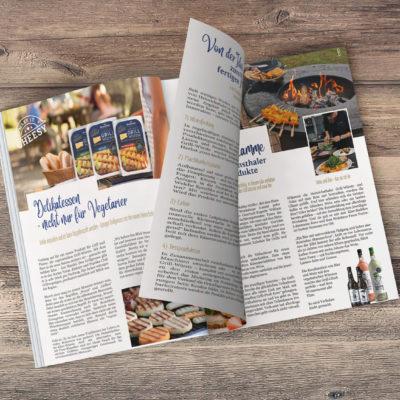 Grillgenuss zum Lesen – Mai-Ausgabe vom Käseblatt
